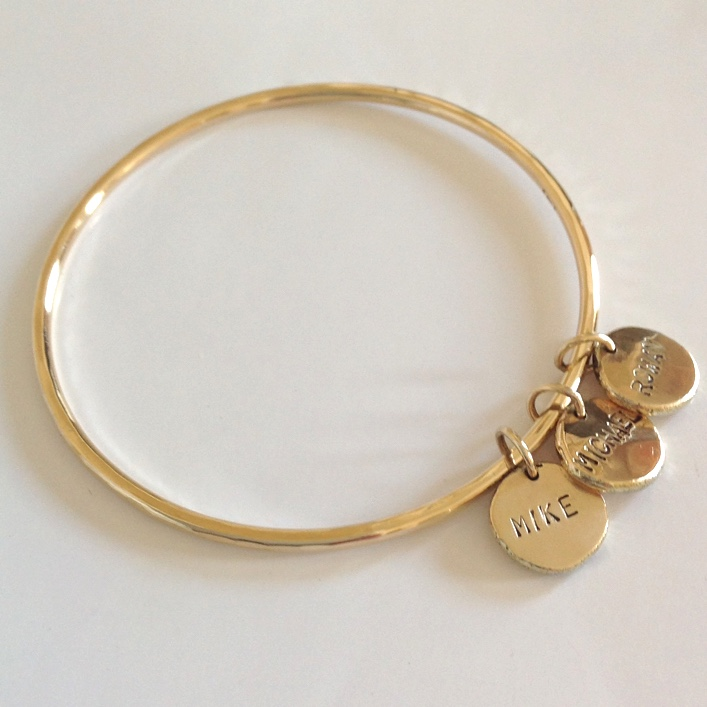 HJ_BESPOKE_ 9ct Gold P8 Bangle