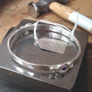 HJ_BESPOKE_Bangle with Brithstone