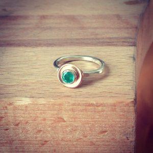 HJ_BESPOKE_Emerald Pod Ring