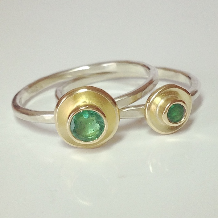 HJ_BESPOKE_Emerald Ring, Neckpiece and Earrings Set4