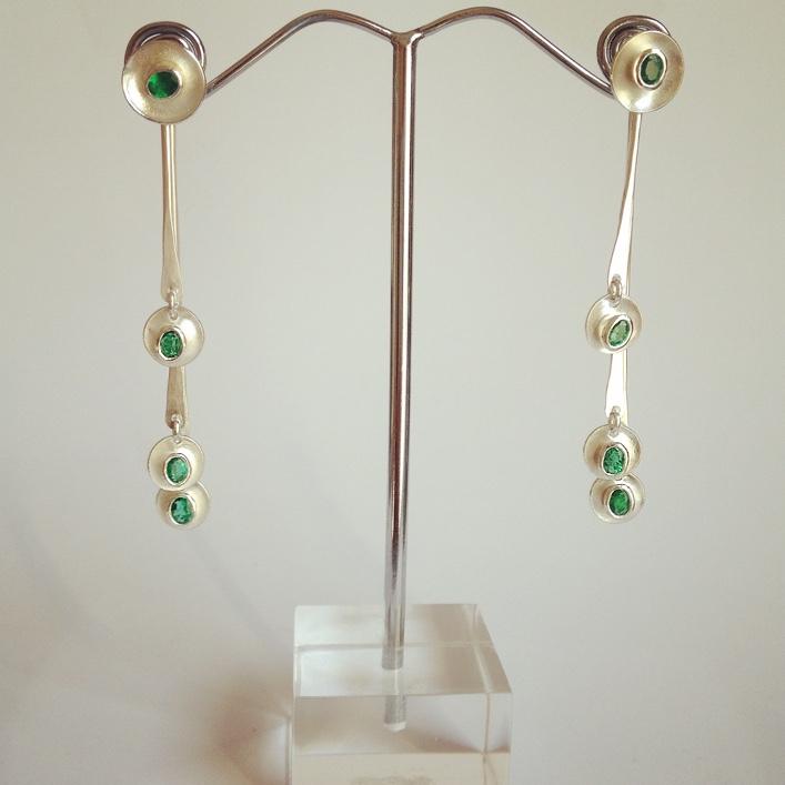 HJ_BESPOKE_Emerald Ring, Neckpiece and Earrings Set8