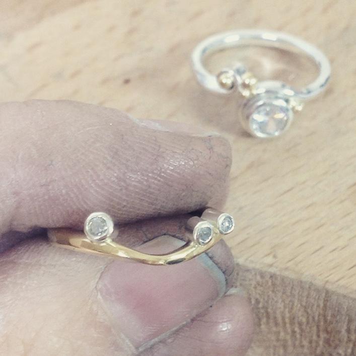 HJ_BESPOKE_Gold, Diamond Stack 3