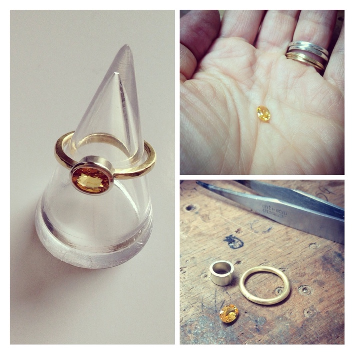 HJ_BESPOKE_Gold and Yellow Sapphire Ring1