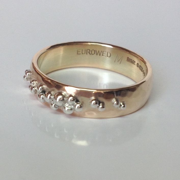 HJ_BESPOKE_Granulation Wedding Band