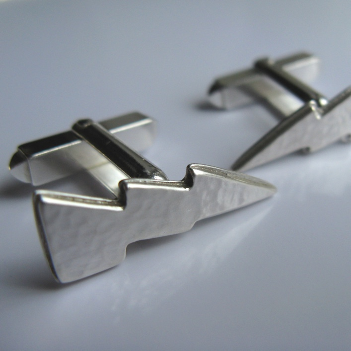 HJ_BESPOKE_Lightning Strike Cufflinks