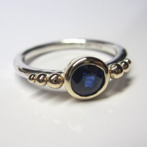 HJ_BESPOKE_Silver, 18ct and Sapphire