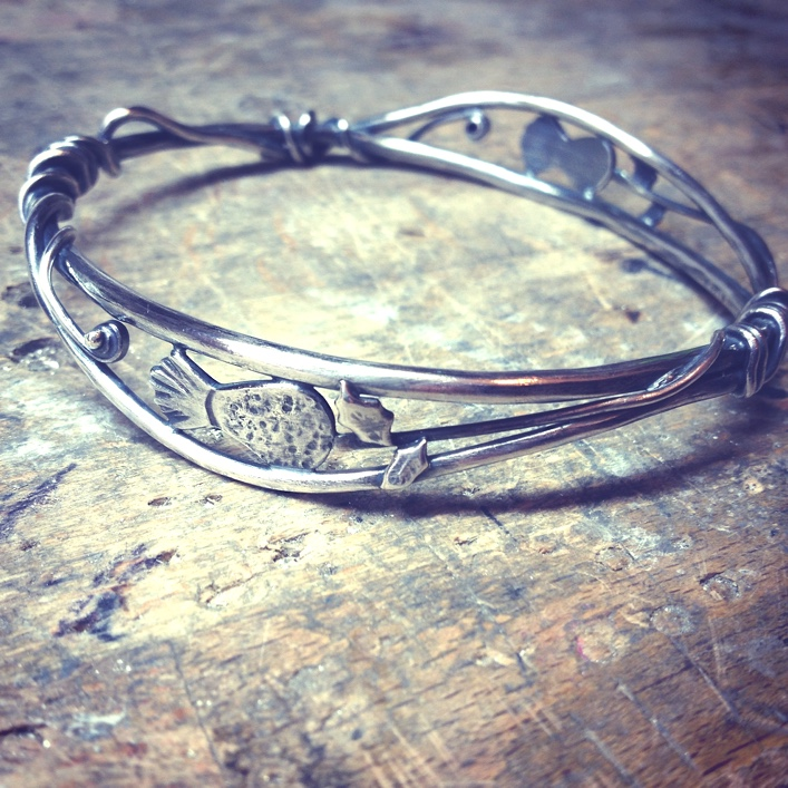 HJ_BESPOKE_Thistle Bangle