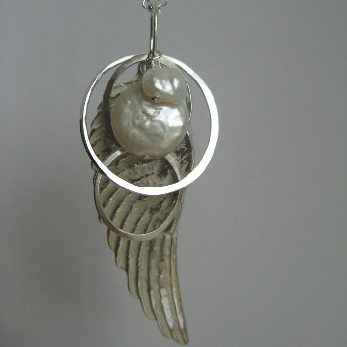 HJ_BESPOKE_Angel Wing Cluster Pendant