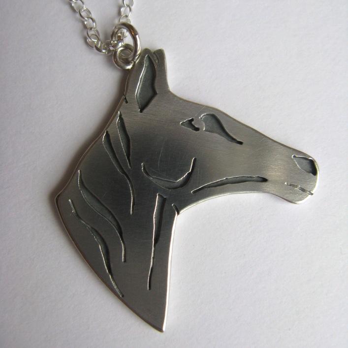 HJ_BESPOKE_Horse Pendant