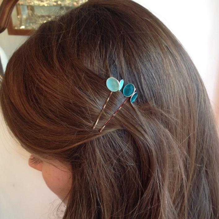 HJ_BESPOKE_Enamel Hair slides 1