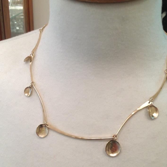 HJ_BESPOKE_Gold Eucalyptus Necklace 2