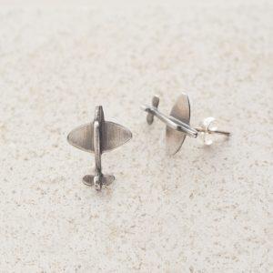Earrings-Charm Stud-Spitfire-Rose