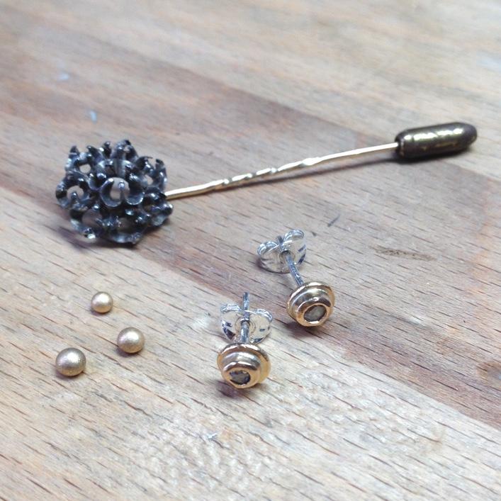 HJ_BESPOKE_ Inherited Diamond Studs