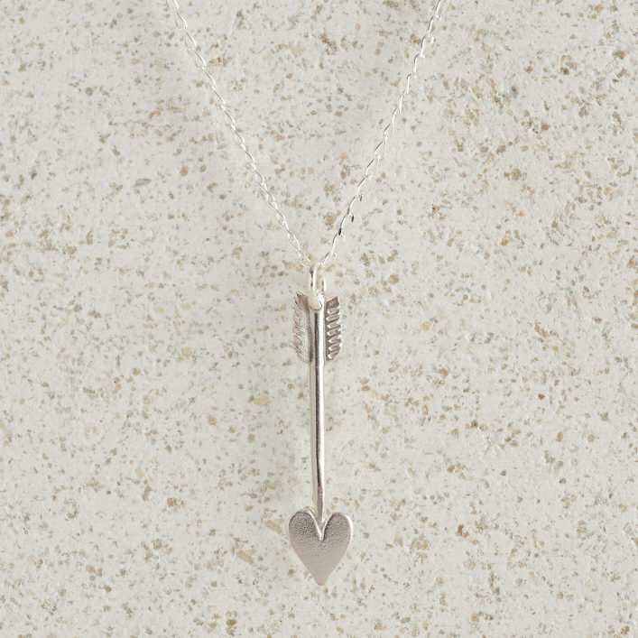 Necklaces-Charm Pendants-Arrow-Small-Silver_NEW