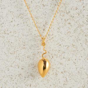 Necklaces-Charm Pendants-Mice-Gold