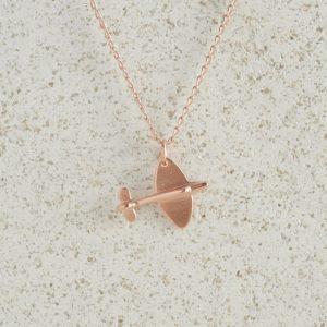Necklaces-Charm Pendants-Spitfire-Rose