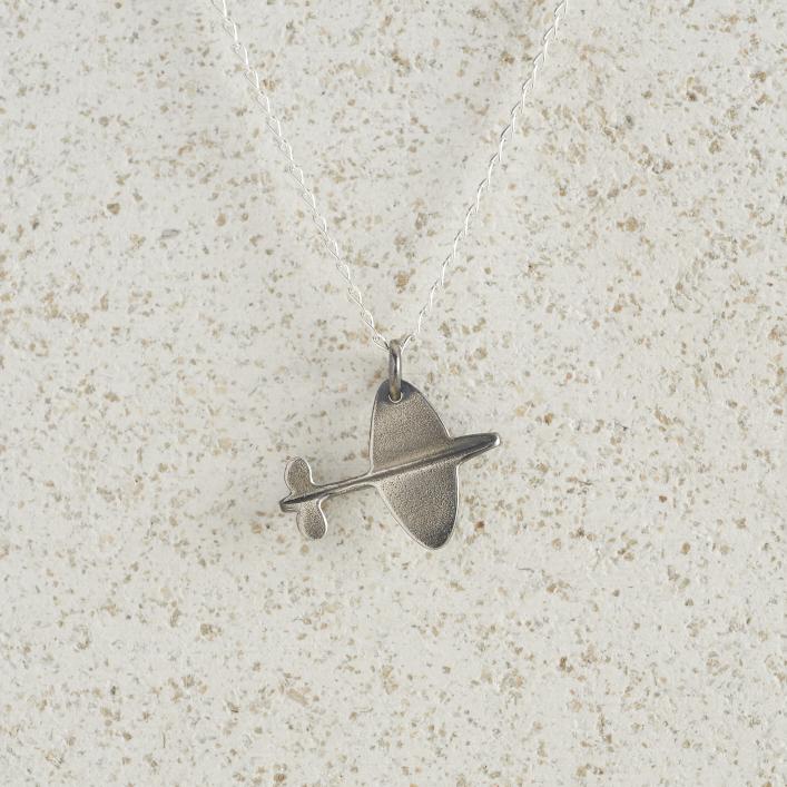 Necklaces-Charm Pendants-Spitfire-Silver