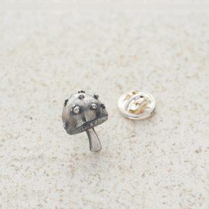 Tie Pin-Mushroom