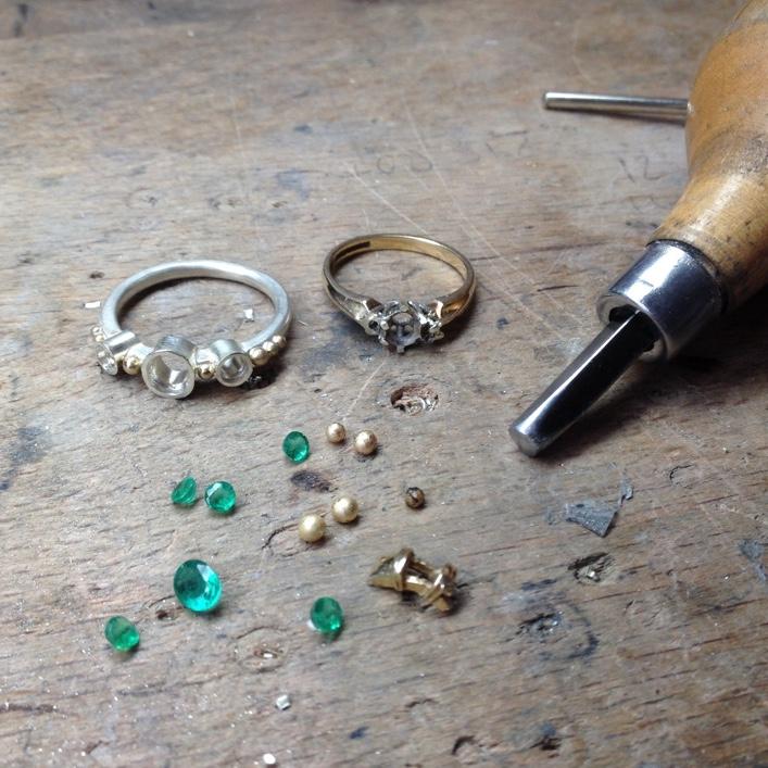 HJ_BESPOKE_Inherited Emerald & Diamond Set 1