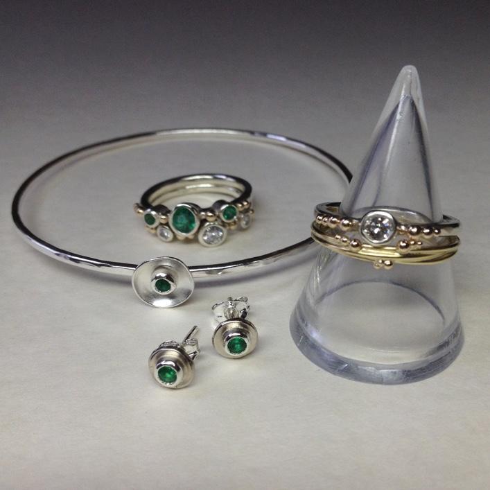 HJ_BESPOKE_Inherited Emerald & Diamond Set 2