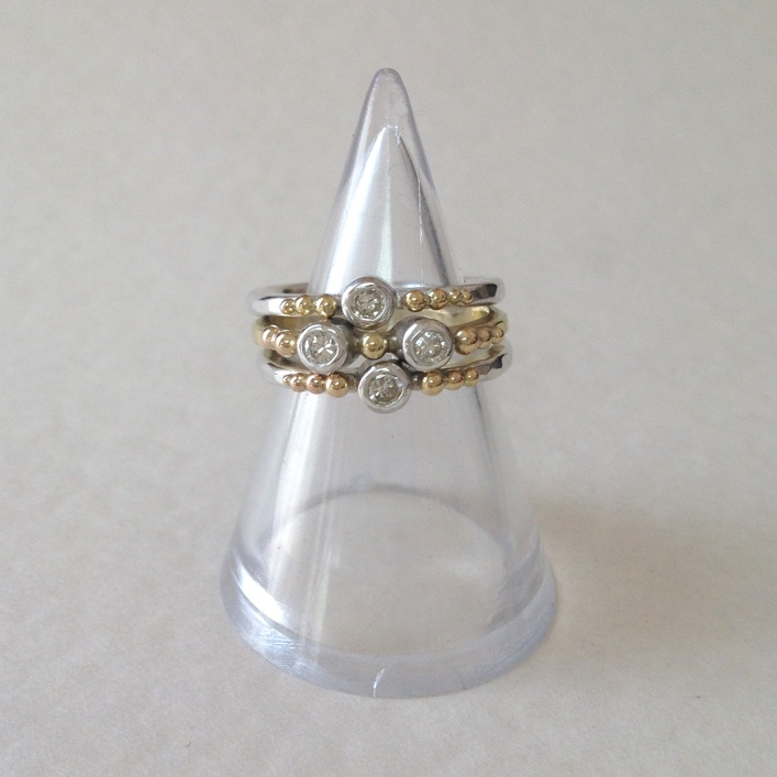 HJ_BESPOKE_Inherited Gold & Diamond Stack Ring 3