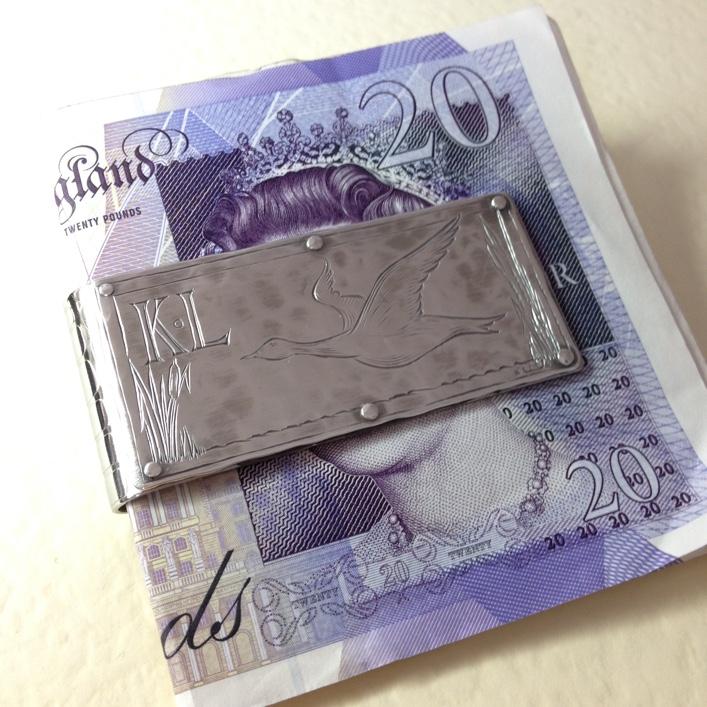 HJ_BESPOKE_Engraved Money Clip 1