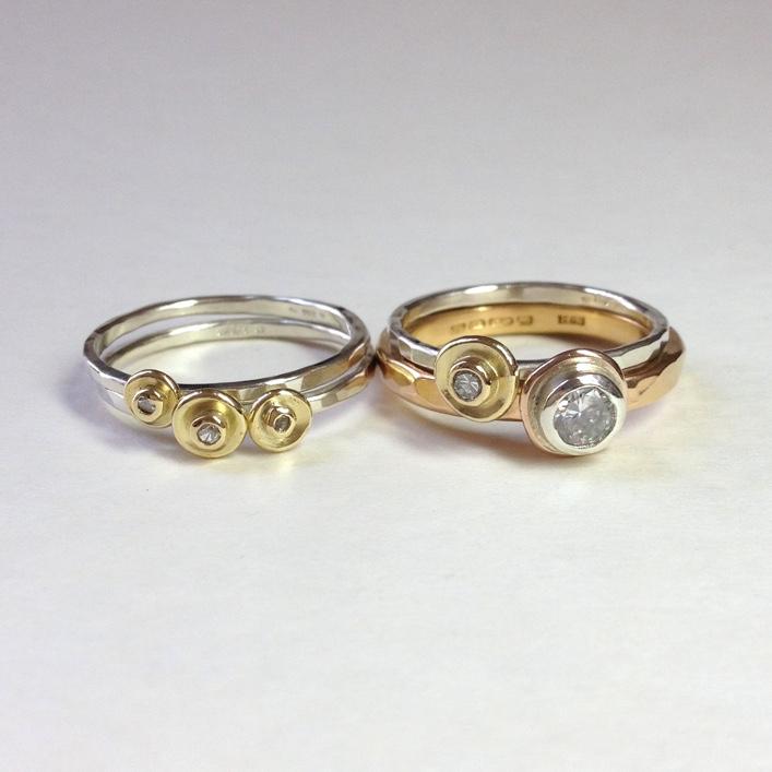 HJ_BESPOKE_Inherited Diamond Pod Rings 1