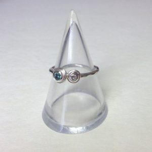 HJ_BESPOKE_Apotite & Diamond Pod Ring