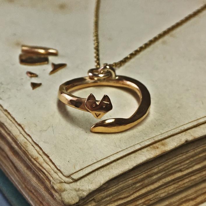 HJ_BESPOKE_gold_fox_pendant